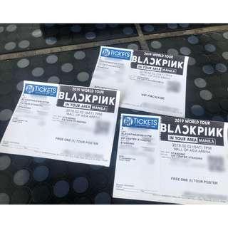 Selling Blackpink Concert Tickets