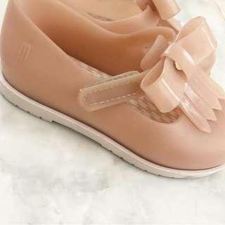 Mini Melissa Shoes size 8