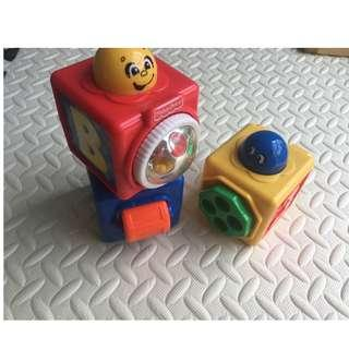 Fisher Price 3 peices baby toy set