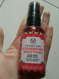 face mist strowberry smoothing