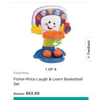Fisher Price Basketball Hoop