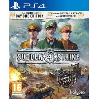PS4 Sudden Strike 4 Limited Days One Edition