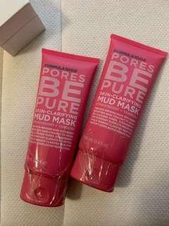 2x Brand New Formula 10.0.6 Mud Mask