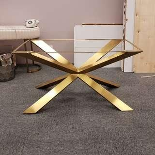 Gold Stainless Steel Dining Table Legs