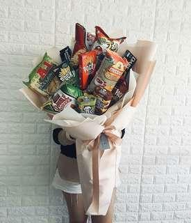 Karge Size Snack Bouquet Package