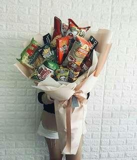 Large Snack Bouquet Package