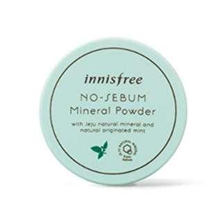 Innisfree No Sebum Mineral Powder Inisfree 5gr Original