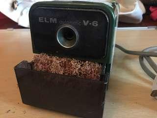 Old school electric pencil 電動鉛筆刨