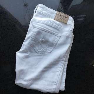 Hollister 白色牛仔褲 Hollister white jegging