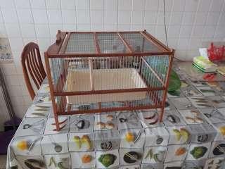 🚚 Shama bath cage