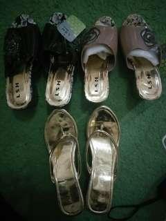 Sendal - High Heels - Wedges