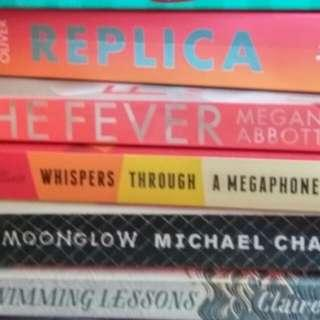 $1.80 Holiday Read For CNY LWE Clearance Good Condition Take All 5 Books $9. Or $3.90 Each Michael Chabon Megan Abbot Lauren Oliver Ahern Kinsella