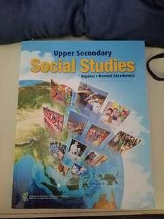 🚚 Upper Secondary Social Studies Textbook