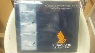 限量發行 Singapore Airlines 四合一飛機模型 1:500
