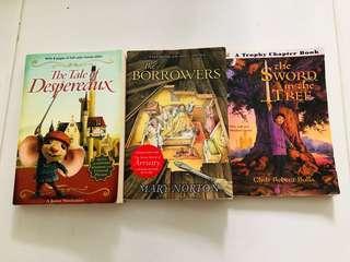 Set of 3 children books