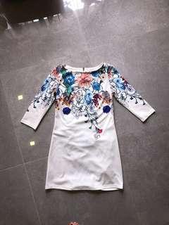 🚚 PL Printed Dress - S