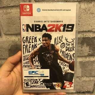 [NEW] Nintendo Switch Game - NBA2K19