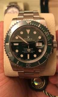 勞力士ROLEX 116610LV Full Set