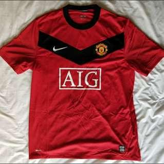 c7c53a31342 NIKE Dimitar Bebatov of Manchester United Signed Jersey