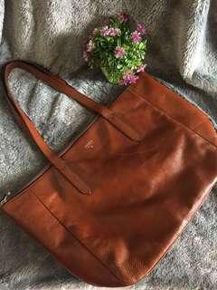 Fossil shoper brown preloved