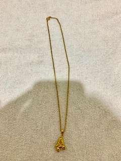 Skates Necklace