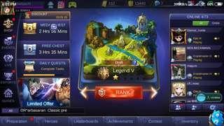Mobile Legends account