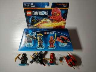Lego Ninjago Team Pack 71207