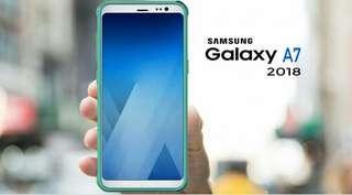 Samsung A7 2018 4/64 bisa kredit proses 3 menit