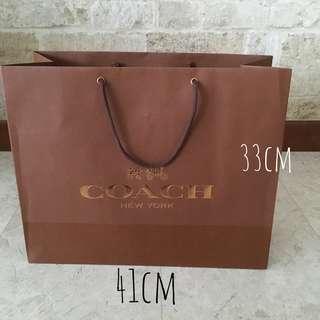 Coach Paper Bag