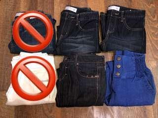 [clearance] denim jeans/jeans
