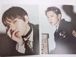 EXO 官方 DMUMT postcard