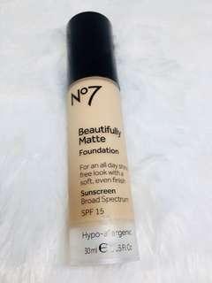 No 7 brand foundation