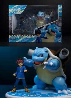 G.E.M Pokémon Gary and Blastoise