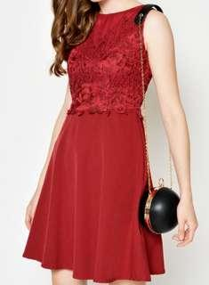 Love and Bravery Mikayla red dress