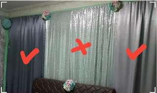 Satin Drapes/Backdrops for SALE