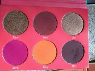 Juvia's place blush palettes