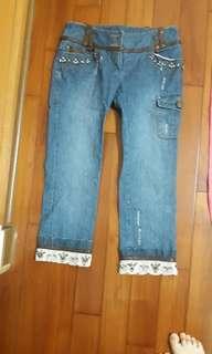 🚚 miamia牛仔褲