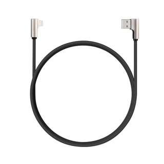 AUKEY Cable CB-BAL6 Nylon 90° Quick Charge Ligtning USB