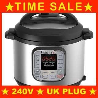 🚚 [SG PLUG] Instant Pot Duo 7-In-1 Pressure Cooker (240V, SG 3-pin plug, no transformer needed) InstantPot