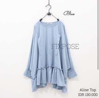 Aline Top Baby Blue by Fixpose