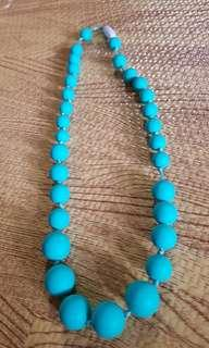 Silicon necklace teether