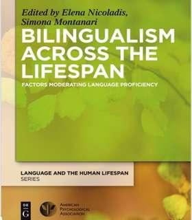 🚚 PL4880Q Bilingualism Across the Lifespan: Factors Moderating Language Proficiency Textbook