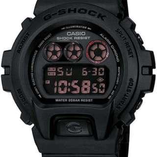 Casio G-Shock DW6900MS-1 3230 (POLIS EVO)