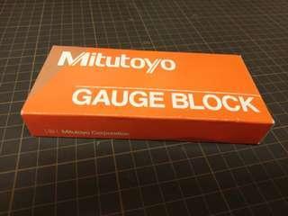 Mitutoyo Gage Block grade 00 30mm Length 日本製