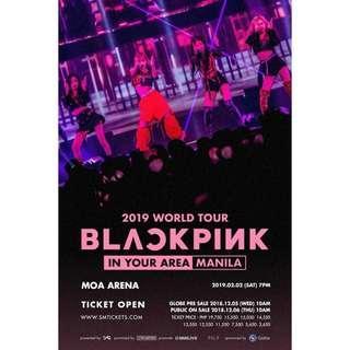 2 Patron Standing for Blackpink concert selling