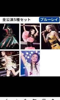 安室奈美惠namie amuro Final Tour 2018 ~Finally~ Blu-ray 全5款 /另可加$80海報 或加$100兩個襟章全新未拆