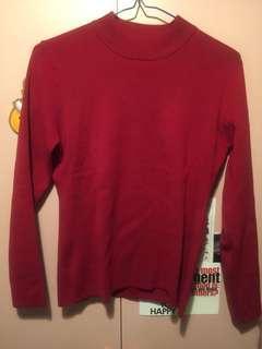 全新紅色冷衫 新年必備