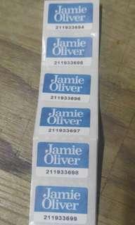 30個Jamie oliver 印花