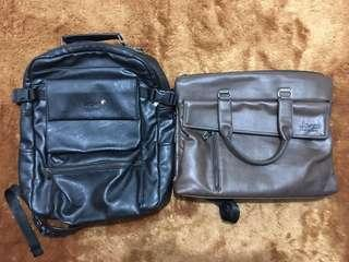 200k dapat 2 tas kulit! Montblanc dan Jeep Murah! #CNY2019