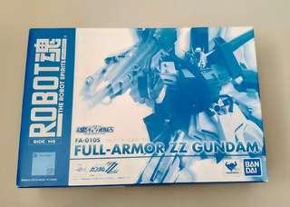 特價 日版 Robot魂 限 高達 ZZ 全武装 Full Armor ZZ Gundam
